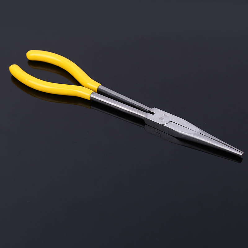 "LUWEI 11"" inch Multi-functional 0/ 25/ 45/ 90 degree O-Shape Bent Needle Nose Pliers Mechanics Hand Tool"