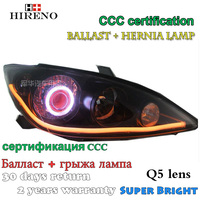 Hireno Modified Headlamp For Toyota Camry 2 5L 2005 Headlight Assembly Car Styling Angel Lens Beam