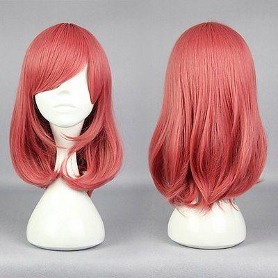 FREE SHIPAnime LoveLive! Nishikino Maki Red Cosplay Fashion Wig Costume Heat Resistant