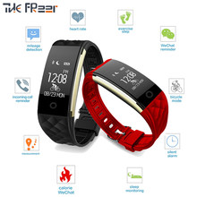 Fashion smart watch 2019 new Heart rate Pedometer Comfortable breathable strap Sport watch men woman wrist watches for women men(China)