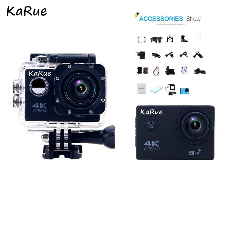 KaRue 4 K caméra d'action Original F60 Ultra HD 4 K WiFi 1080 P 60fps Sport Étanche Pro caméra drone