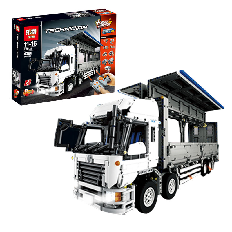 Lepin 23008 4380Pcs Technical Series legoing MOC Wing Body Truck Set 1389 Building Block Bricks Children Educational Toys Gift 23008 4380pcs technical series the moc wing body truck set compatible with 1389 educational building blocks children toys