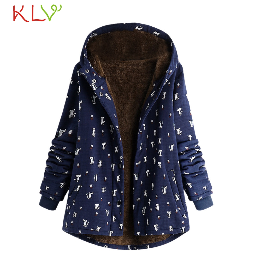 HTB1PfL.XtfvK1RjSszhq6AcGFXaw Women Jacket Winter Hooded Pockets Vintage Oversize Long 2018 Plus Size Ladies Chamarra Cazadora Mujer Coat For Girls 18Oct24