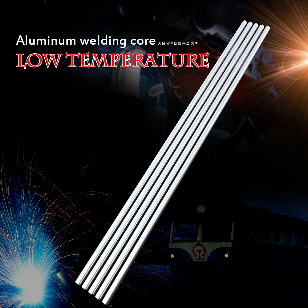 10PCS Low Temperature Aluminum Welding Wire Flux Cored 3.2mm*230mm Al-Mg Soldering Rod No Need Solder Powder