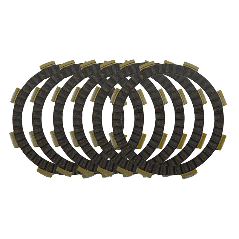 Motorcycle Clutch Friction Plates Set for KAWASAKI KX85 1998-2013/ KX80 1998-2000/ KX100 1998-2013 Clutch Lining #CP-00012