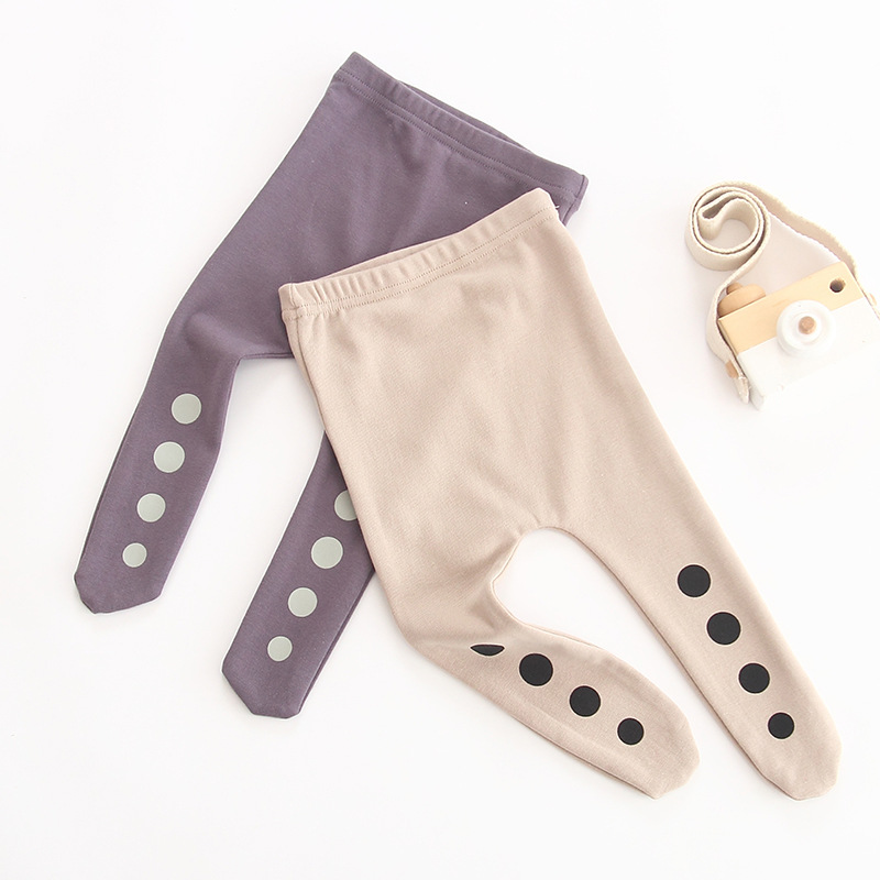 Cute Geometric Kids Girls Tights Pantyhose Stocking Cotton Children Baby Boy Tights Stockings Toddler Pantyhose For 0-1Y