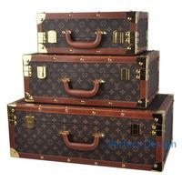 Кофе цветные кожаные коробка для хранения и ветер дорожного чемодана дальнозоркостью отображения окна фотографии реквизита коробка