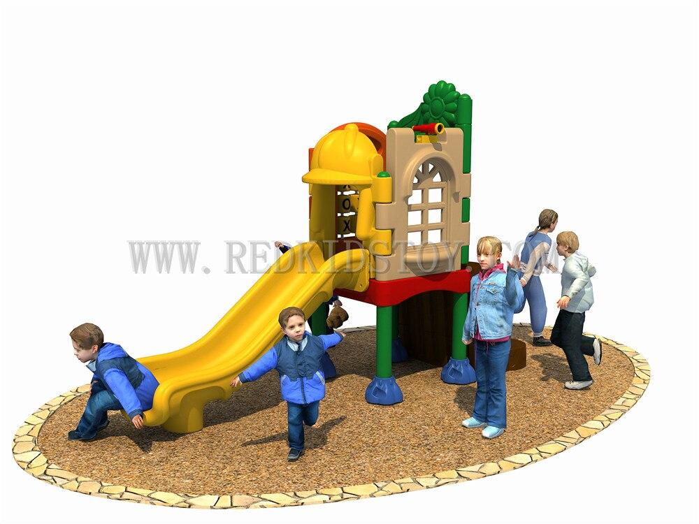 Exporté vers le mexique enfants aire De jeux en plastique CE certifié Plaza De Juegos HZ-ML001