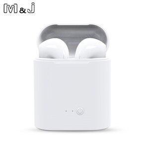 Image 3 - I7s TWS Mini auricolare Bluetooth senza fili auricolare Stereo con scatola di ricarica Mic per tutti gli smartphone non i10 i9 i13