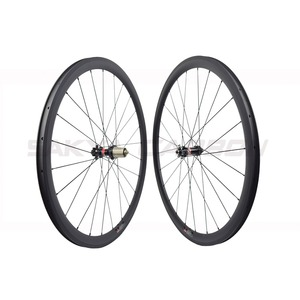 Image 5 - Disc brake full carbon wheels with Novatec D411SB D412SB straight pull hub disc carbon wheels 30mm 35mm 38mm 45mm 50mm 55mm 60mm