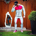 2016 New Gymshark Men Long Pants Joggers RunningPants Trousers Male Bottoms Bodybuilding pantalon homme Workout Sweatpants