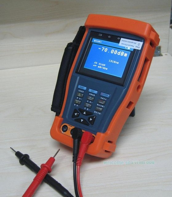 "Free Shipping!!3.5"" Digital multimeter/Optical power meter CCTV tester"