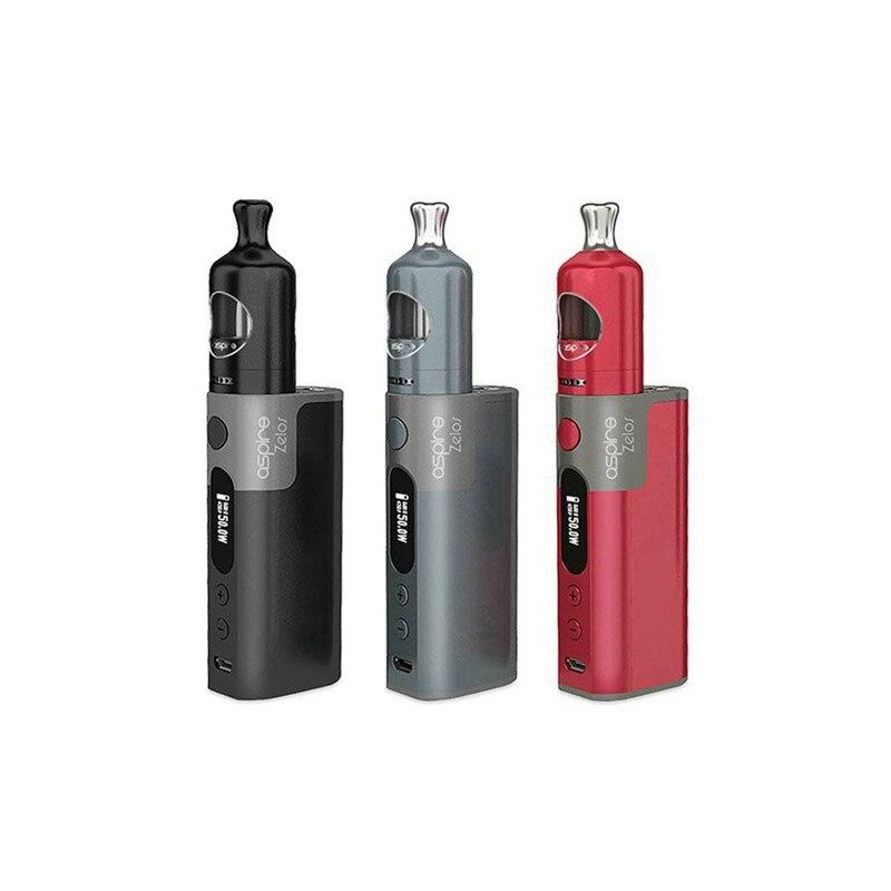 Electronic Cigarette Aspire Zelos 50W 2500mAh Box Mod with 2ml Aspire Nautilus 2 Atomizer Tank Kit