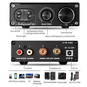 Image 5 - 2020 Nobsound Hi Fi G2 /G2 pro Subwoofer / Full Frequency Mono Channel Digital Power Amplifier 100W or 300W