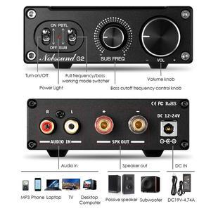 Image 5 - 2020 Nobsound Hi Fi G2 /G2 pro сабвуфер/полночастотный моноканальный цифровой усилитель мощности 100 Вт или 300 Вт