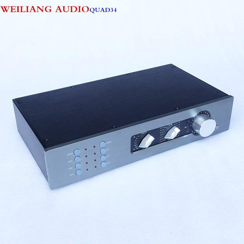 Brise Audio Se Référer à Classique QUAD34 Pré-amp Amplificateur