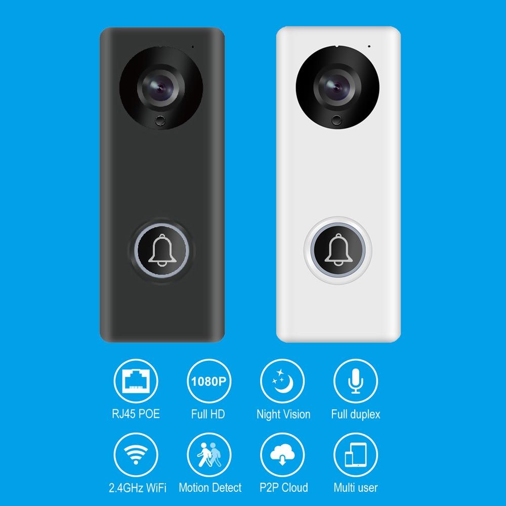 Smart Home Mini Doorbell Wireless Wifi APP Control Video Door Phone For Visitor Surveillance Network IP Camera Intercom