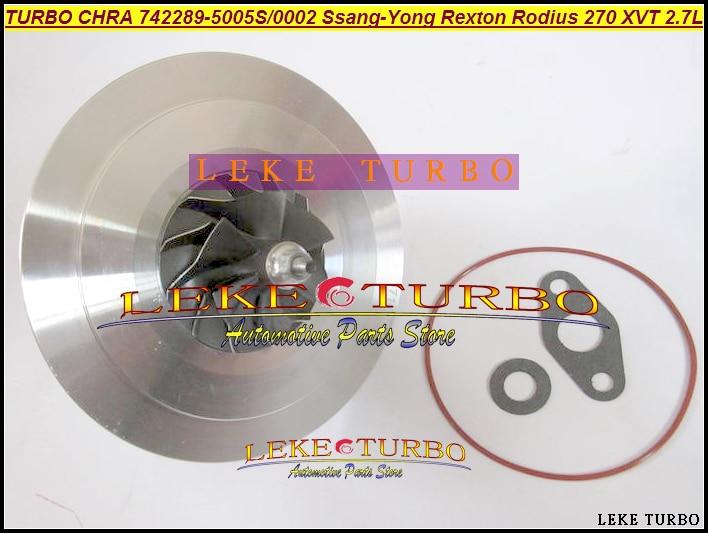 Turbo Cartridge CHRA core 742289 742289-5003S 742289-0001 A6650900580 A6650901280 A6650901780 For Ssang Yong Rexton Rodius D27DT turbo cartridge chra core gt1752s 733952 733952 5001s 733952 0001 28200 4a101 28201 4a101 for kia sorento d4cb 2 5l crdi
