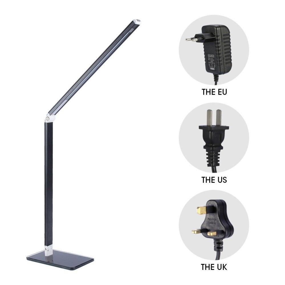 48 LED Tisch Schreibtisch Lampe Energiespar Folding Wiederaufladbare Büro Tisch Lampe Student Lesen Lampen Studie Lampe Mode Lichter