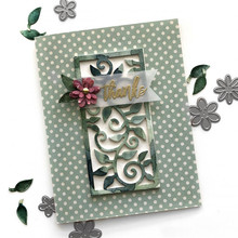 Eastshape Flower Border Cutting Dies Metal Craft Frame Cut 2019 New for Scrapbooking Card Making DIY Album Paper Embossing
