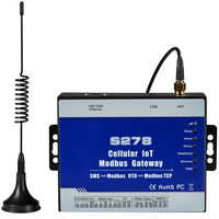 Cellular IoT Modbus RTU Gateway Industrial IOT Module GSM Data Acquisition For Agriculture Environment Monitoring