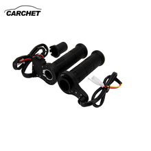 CARCHET Motorcycle Handlebar Motorbike Heating Handle Heated Grips Set Universal Motocross Handlebars Heated Grip For Honda