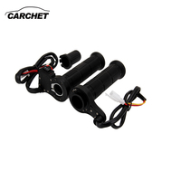 Set Universal Motorcycle Motorbike Heating Handle Heated Grips Handlebar