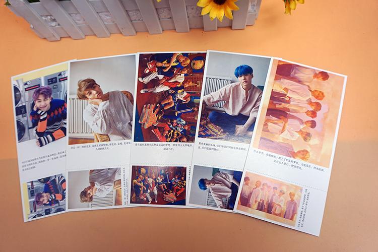 2018 Card Photo Card Album Poster Kpop Bts Bangtan Jung Kook Label Post 120 Cards 1 Poster Fire Bts K-pop K Pop Bts 1 Sold Back To Search Resultsapparel Accessories