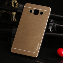For Samsung Galaxy 2016 A3 A3000 Case Brushed Aluminum Metal Plastic Case Hard Back Cover For
