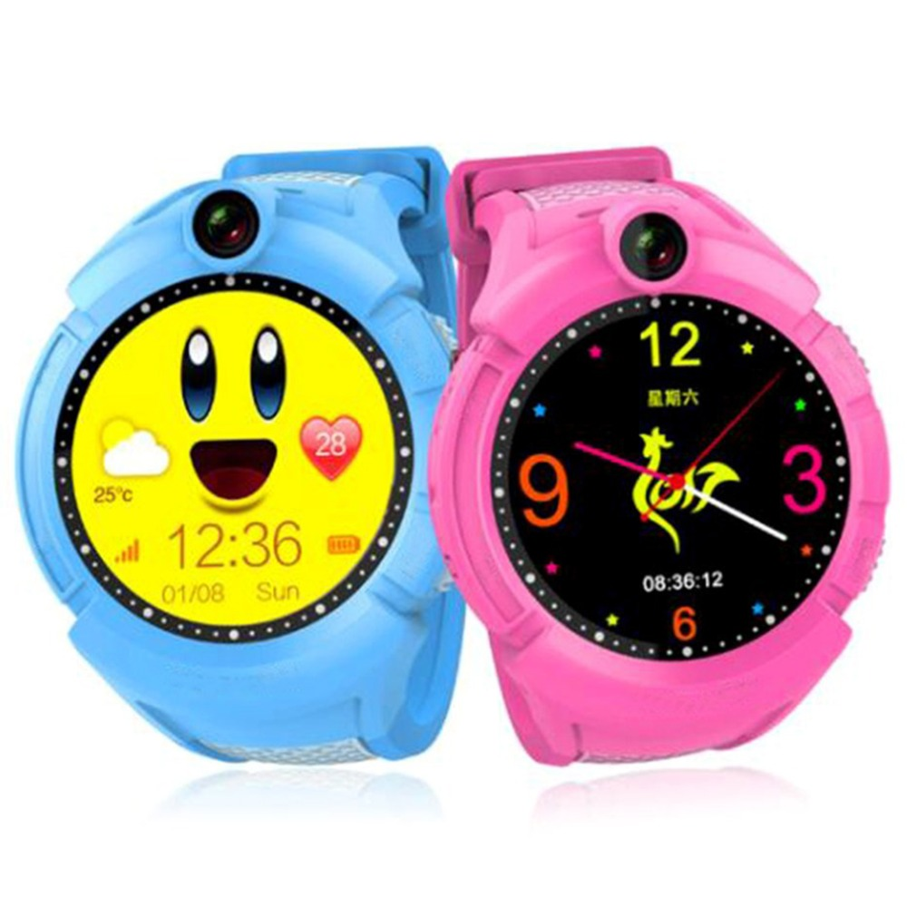 Q360 Kids Smart Watch with Camera WIFI Child Health Sleep Smartband hot selling children watches for boys and girls wokka watch q360 pink