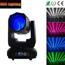 200W LED ışın hareketli kafa ışık DMX Luces DJ Disko Disko parti Bar sahne aydınlatması gösterisi ekipmanları ücretsiz kargo