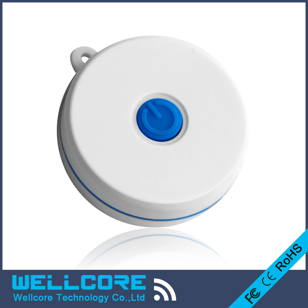 5pcs/lot 2017 Eddystone beacon Supported Waterproof IBeacon NRF51822 Bluetooth Ibeacon with Power Button
