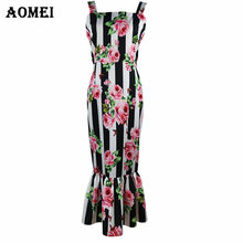 a18eaa35f38ee Retro Printed Floral Tube Dress for Women Summer Fashion Ruffles 2019 Lady Slim  Fit Tight Bodycon Night Out Pencil Tank Dresses