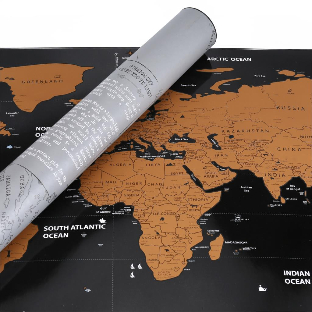 fc4366f359 ... to reveal a whole new exciting world below creating your own  personalized world map. From Argentina to Zimbabwe – scratch every country  that you've ever ...