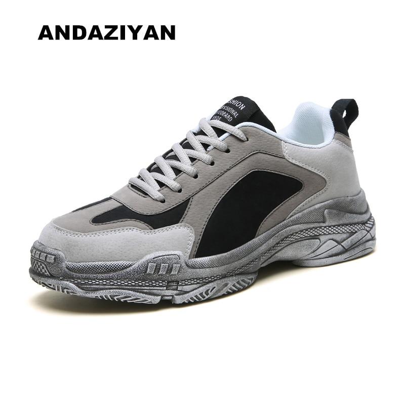 gray Masculinos Bege Limpar Sapatos Costura cinza Casuais Black Nova Sujo preto fx1nBqz