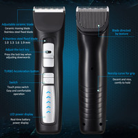 2 Speed Professional Pet Electric Clippers Pet Clipper Rechargeable Razor Powered By 2200ma Large capacity Lithium Battery 2018