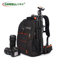 Fast Shipping Waterproof Camera Bag Camera Case for Canon Nikon Adjustable Cameras Bag Backpack For Traveling Explosion proof