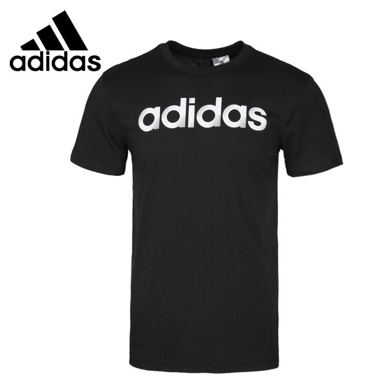 Original New Arrival Adidas SLICED LINEAR Men s T shirts short sleeve Sportswear