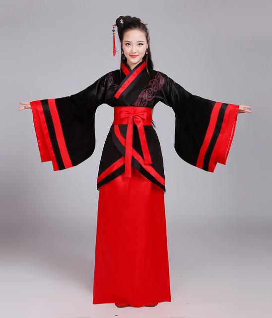 Vestidos de fadas hanfu chinês tradicional para as mulheres dress dança roupas traje hanfu dinastia tang traje antigo l198
