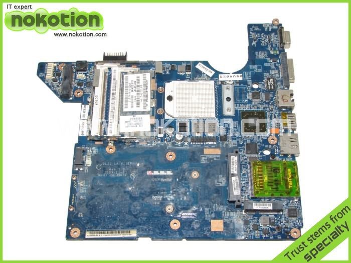 NOKOTION 511858-001 For HP DV4 motherboard  DDR2 Socket s1 LA-4111P  with cpu nokotion sps v000198120 for toshiba satellite a500 a505 motherboard intel gm45 ddr2 6050a2323101 mb a01