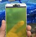 Frente de vidro exterior com moldura moldura intermediária para iphone 7 7g/7 além disso frente lente de vidro com moldura
