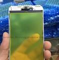 Frontal exterior de cristal con marco medio bisel para iphone 7 7g/7 más frente lente de cristal con marco