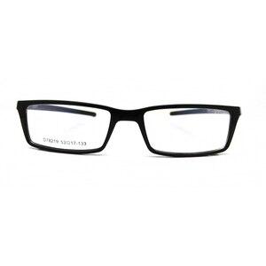 Image 4 - Esnbie 새로운 안경 안경 프레임 안경 프레임 블랙 tr90 광학 유리 처방 안경 프레임 rx