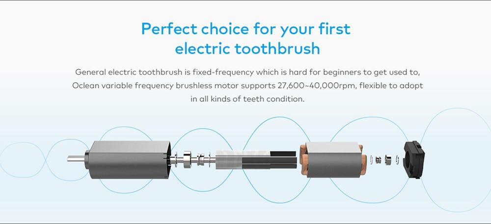 [international version ] xiaomi mijia oclean se sonic electrical mi home brush smart app control intelligent dental health care