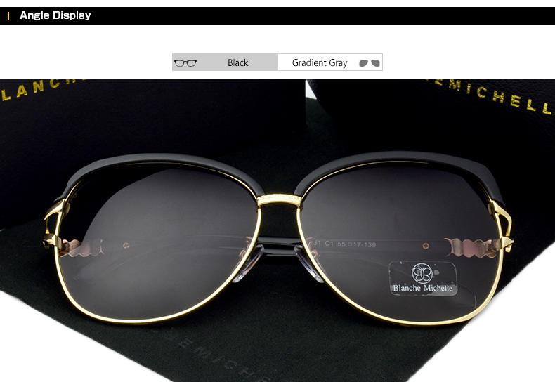 HTB1PfR8fYsTMeJjSszdq6AEupXaM - Blanche Michelle 2018 High Quality Square Polarized Sunglasses Women Brand Designer UV400 Sun Glasses Gradient Sunglass With Box