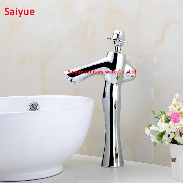 Fashion Lady Unique New design Bathroom kitchen faucet chrome silver ...