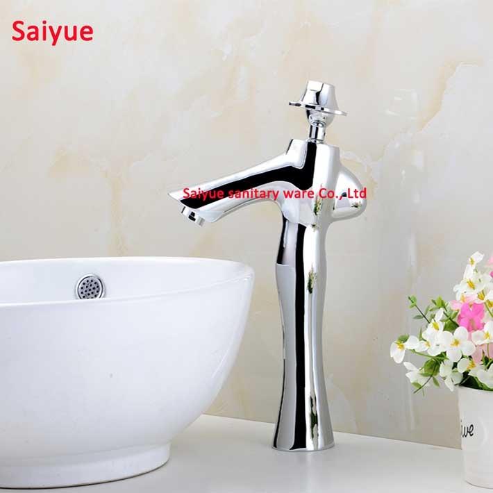 fashion lady unique new design bathroom kitchen faucet chrome silver swivel kitchen sink mixer tap vanity