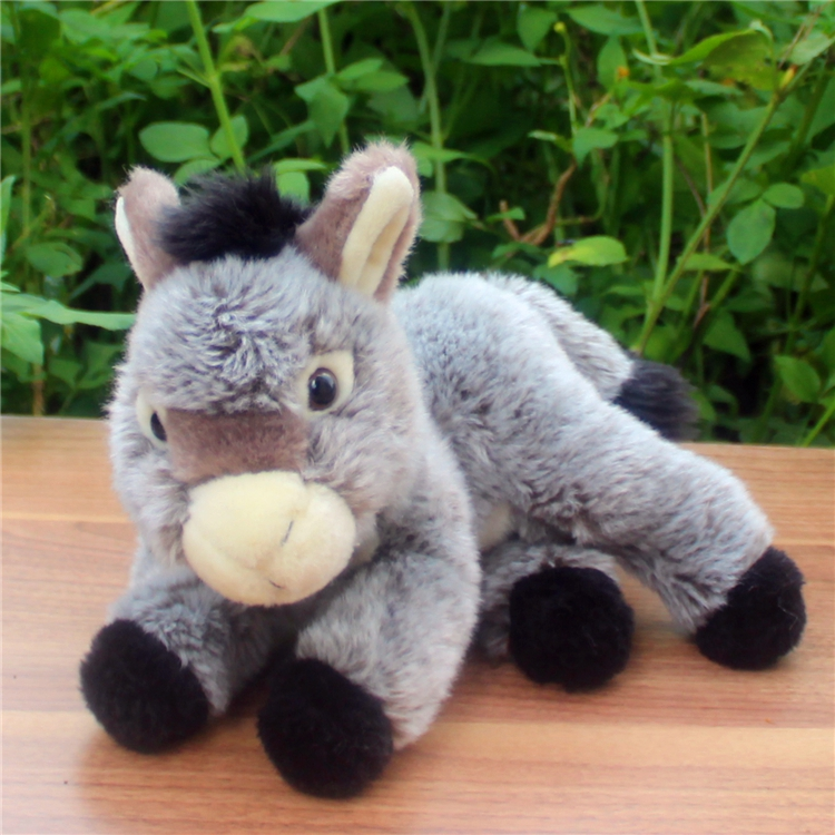 Simulation  Stuffed  Animal Toy Cut Donkey Doll  Children's Toys  Gift  Plush Dolls plush dinosaur doll child toys magic dragon simulation stuffed animal toy dolls stores