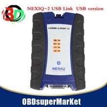 NEXIQ 2 USB Collegamento + del Software Diesel del Camion di Interfaccia ed Il Software con Tutti Gli Installatori USBversion con trasporto veloce