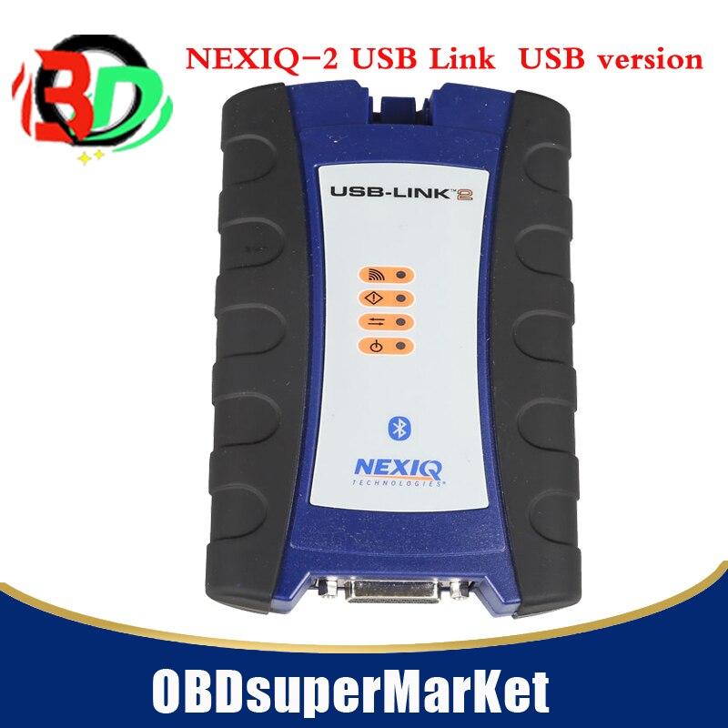 NEXIQ 2 USB Link + Программное обеспечение дизельный грузовик интерфейс и программное обеспечение с все инсталляторы USBversion с быстрой доставкой on